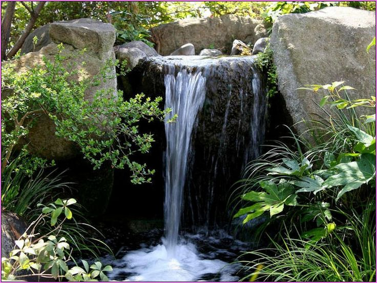 16 Best Waterfeature Images On Pinterest Backyard Ponds