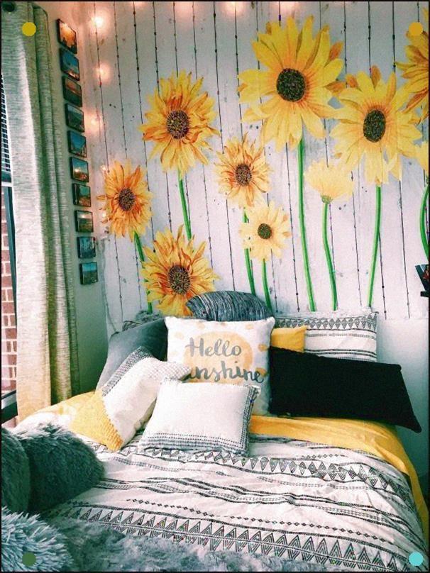 Andrea Calmes Pinterest Calmesandrea Insta Andrea Calmes Aesthetic Rooms Sunflower Room Dream Rooms