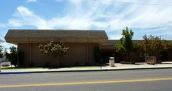 """Reedley, California (filming location for """"Road House"""")"""