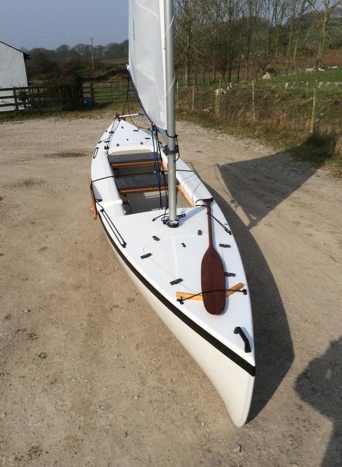 shearwater sailing canoe