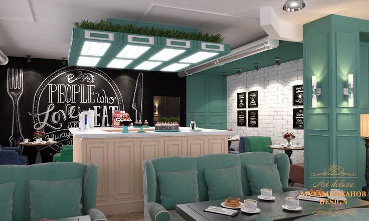 Кафетерии в стиле лофт