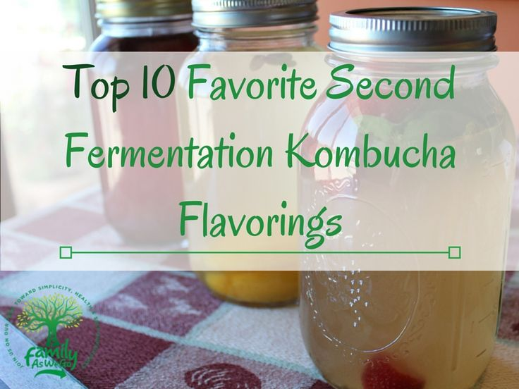 Our 10 favorite kombucha flavorings of fruit and herb for a second fermentation of kombucha. Easy directions on how to jar, flavor, and carbonate kombucha.