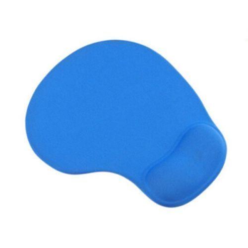 Blue Anti-Slip Comfort Mouse Pad Mat With Gel Foam Rest Wrist Support PC Laptop #UnbrandedGeneric