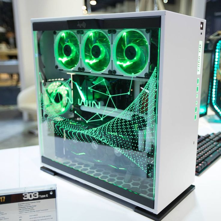 Spotted at this year's CES, the incredible concept case from @inwinusa. The 303 Type-C features everything you love about the 303 but now with a fully RGB front I/O, LED reflected tempered glass side panel and a bracket to show off your GPU vertically! Here's hoping they bring this beauty to market! #CES2017 #rigs