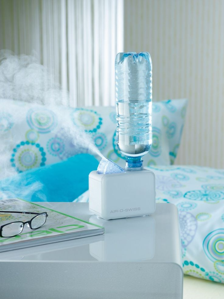Travel humidifier - so great for those dry hotel rooms!