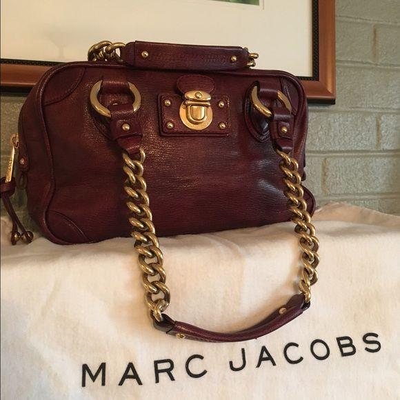 Marc Jacobs Handbags - SALE!!  Marc Jacobs Burgundy Satchel - Price Firm