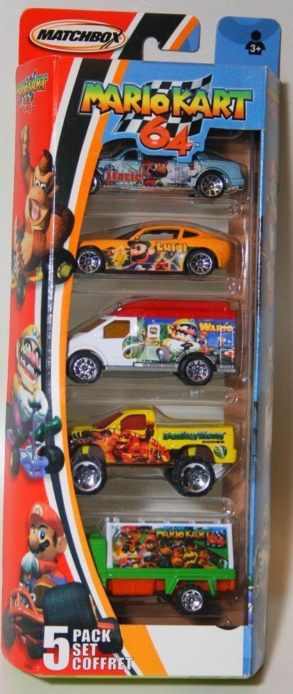 Used Pickup Trucks >> Matchbox 5 Pack Set Nintendo MARIO KART 64 #Matchbox | Hot wheels cars, Mario kart 64, Nintendo ...