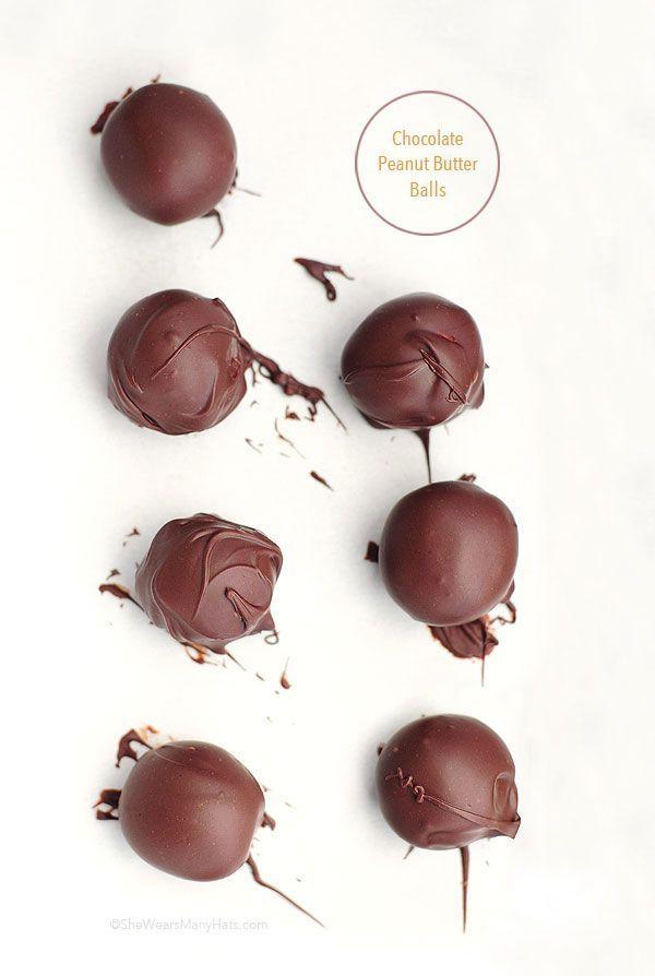 Peanut Butter Balls #Recipe
