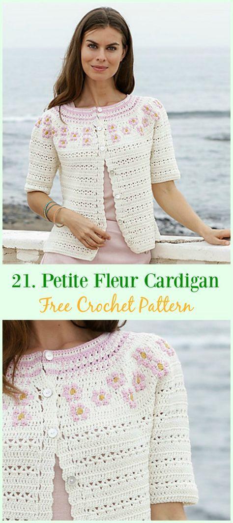 Crochet Women Summer Jacket Cardigan Free Patterns Crochet