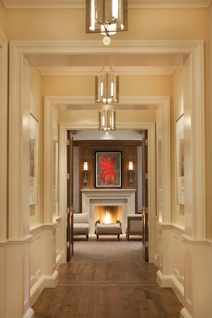 Gallery And Fireplace By Jan Turner Hering