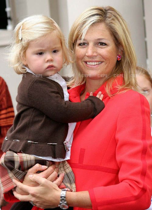 Maxima and Amalia, Crown Princess of Netherlands