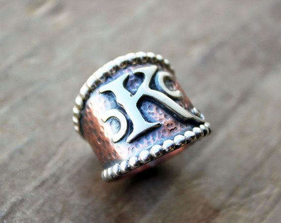 Custom Brand Ring  Cattle Brand Ranch Brand by littleWingedHeart.etsy.com