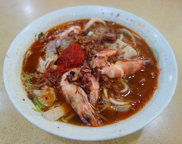 Prawn noodles from Penang Delights in Singapore. www.straitstimes.com/tan-hsueh-yun-food-picks  Photo: Tan Hsueh Yun/The Straits Times