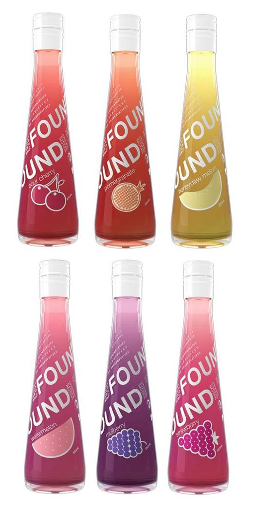 pretty fruit juice packaging
