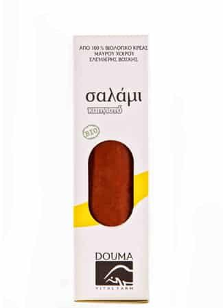 O Θωμάς Ντούμας το 1999, έπειτα από πορεία 15 ετών στην εκτροφή καθαρόαιμων ρατσών βοοειδών, ιδρύει την εταιρία «Αγρόκτημα Ντούμα», έχοντας απώτερο στόχο την Παραγωγή και Διάθεση Βιολογικών Προϊόντων.Η εταιρία ξεκίνησε με βιολογικά μαύρα χοιρινά και αγριογούρουνα, τα οποία εντάχθηκαν για πιστοποίηση στον οργανισμό ελέγχου και πιστοποίησης βιολογικών προϊόντων ΔΗΩ. Bιολογικό σαλάμι καπνιστό με πράσινο …