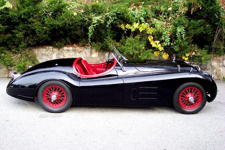 jaguar 1954 xk120...