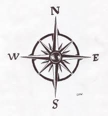tiny compass tattoo - Google Search