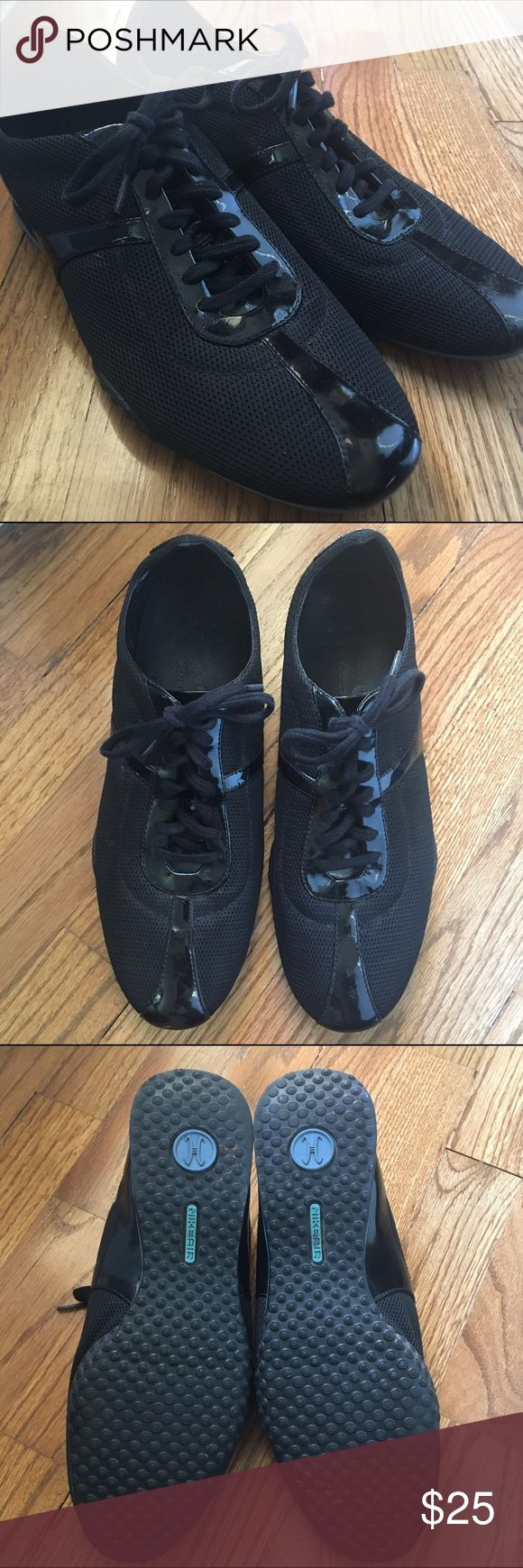 Cole Haan black tennis shoes Great condition! Cole Haans with Nike Air soles. Cole Haan Shoes Sneakers