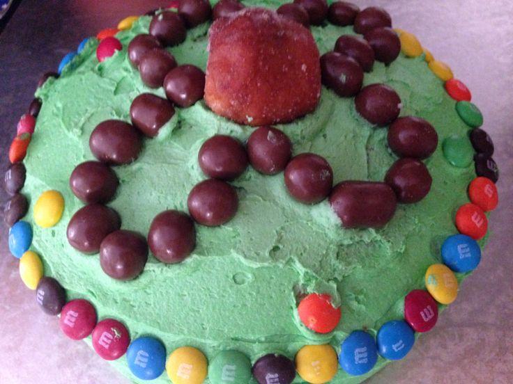 Atom cake