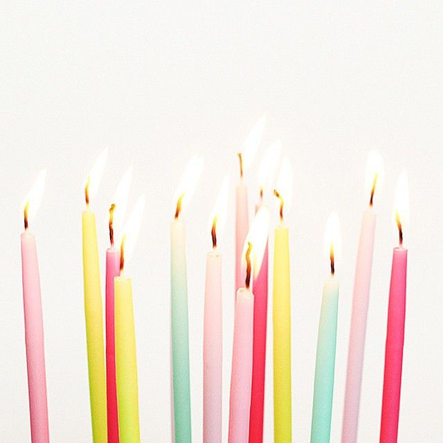 #brightlydecoratedlife tip: treat every day like your birthday!