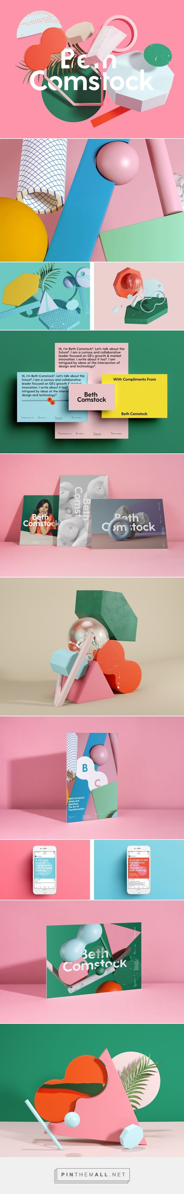Beth Comstock Brand Identity on Behance... - a grouped images picture - Pin Them All