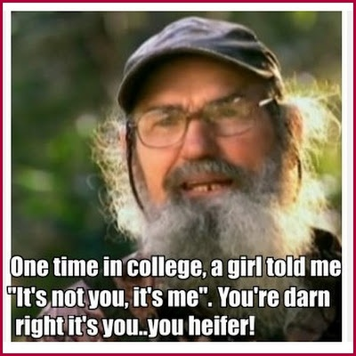 Uncle Si Isms