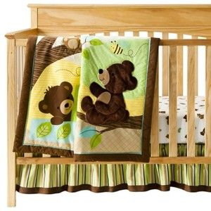 Bedtime Originals Honey Bear 3 Piece Bedding Set