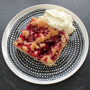 Puolukkapiirakka (lingonberry pie) A bitter lingonberry pie, served with whipped cream. | 42 Traditional Finnish Foods That You Desperately Need In Your Life