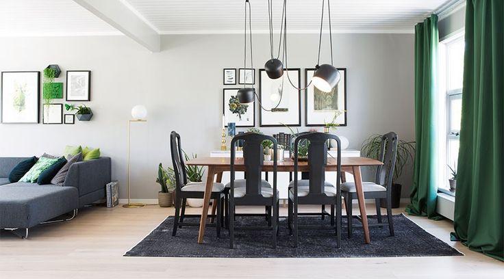 Seks stoler ble til ny førsteetasje