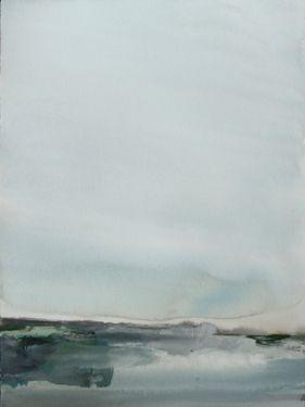 Artist Koen Lybaert; Painting  Vestfirðir (Iceland)  #KoenLybaert #Abstract #Art
