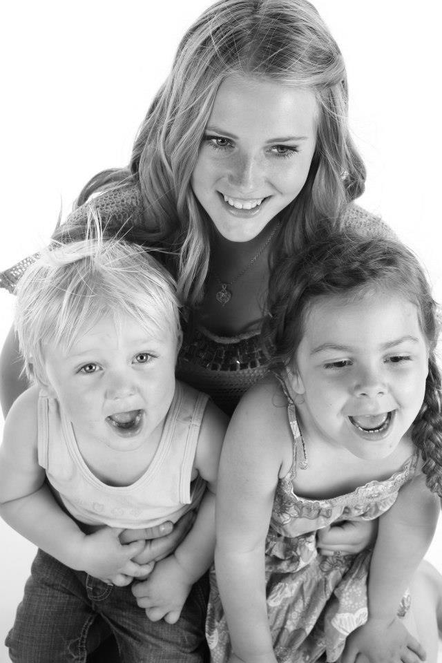 Karine, Noah and Nadia.