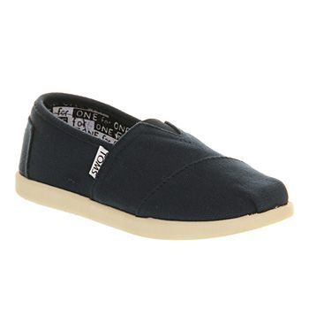 Toms Youth Classics Navy Canvas - Unisex £26