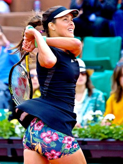 Ana Ivanovic at French Open 2015. #Ivanovic #FrennchOpen Love those camermen important shot