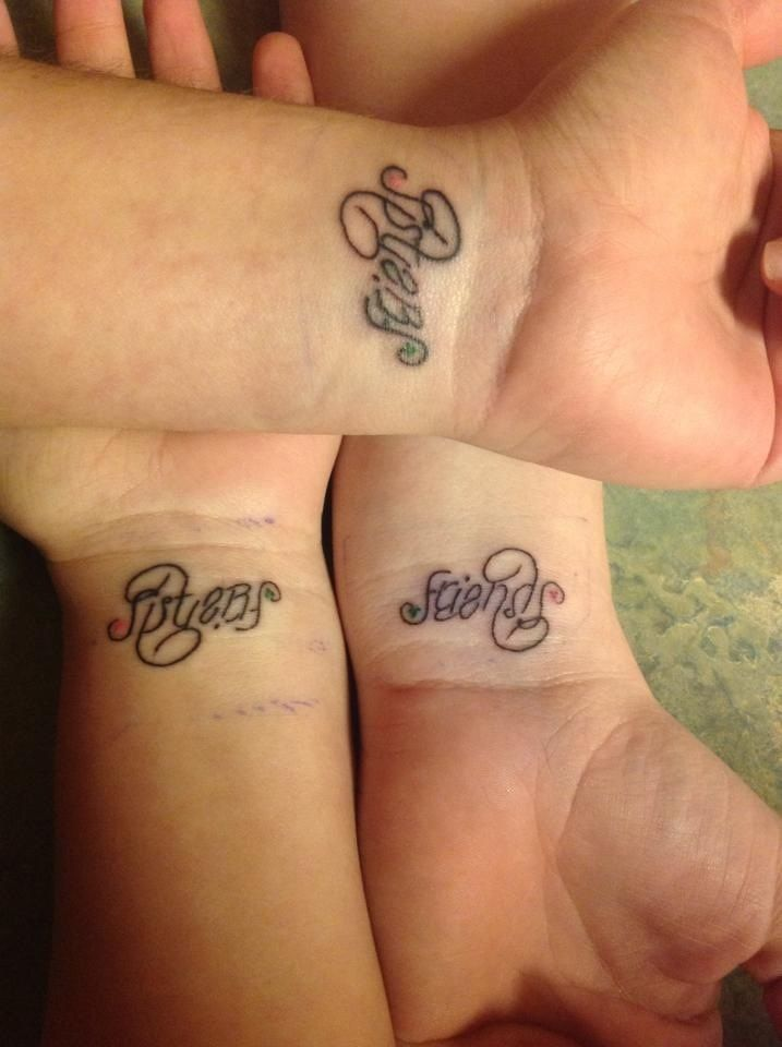 11 best Sister matching tattoos images on Pinterest