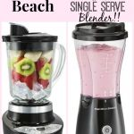Hamilton Beach Smoothie Smart and Single Serve Blender Giveaway