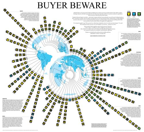 MapCarte 363/365: Buyer Beware by National Post, 2012 | Commission on Map Design