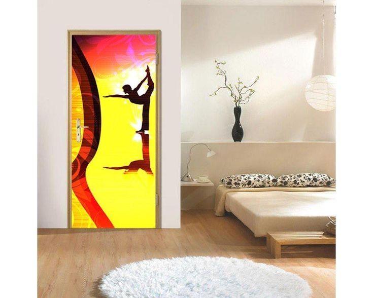 Pilates, αυτοκόλλητο πόρτας , δείτε το!