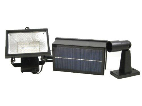 28 LED Solar Powered Flood Light by Reusable Revolution LLC. $49.99. This new solar powered flood light has 28 white LEDs. There is a light sensor that automatically turns the light on when the sun goes down or with inclement weather, and it stays lit for up to 8 hours a day. It ideal for lighting up front entrances, backyards, landscapes, patios, walkways, garages, and sheds.Automatically illuminates when the sun goes down Provides up to 10 hours of light each ...