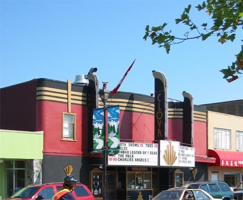 Clova Theatre .... best movie theatre in Cloverdale, BC.
