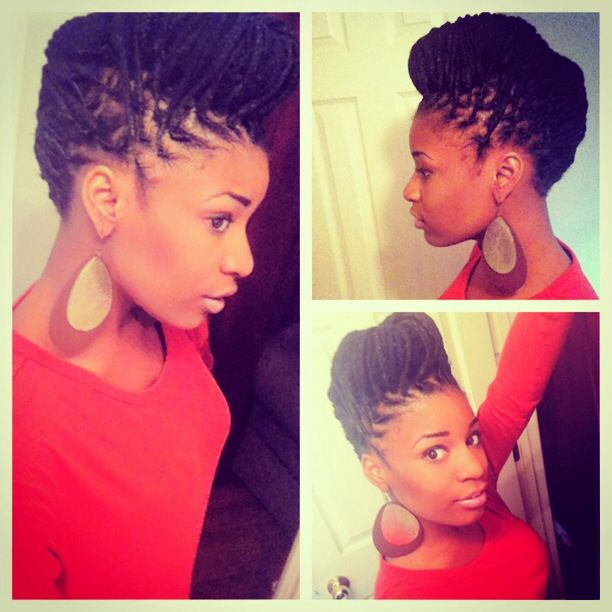 Yarn Braids Safe Natural Hair