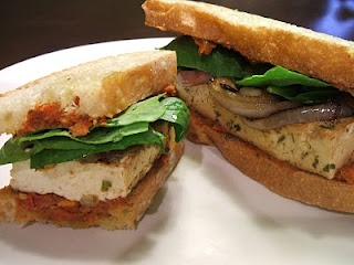 grilled herb tofu sandwiches | vegan/vegetarian yums | Pinterest