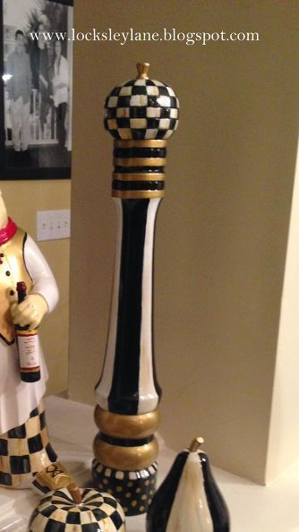 painting a pepper grinder with a mackenzie child feel, crafts, how to, kitchen design