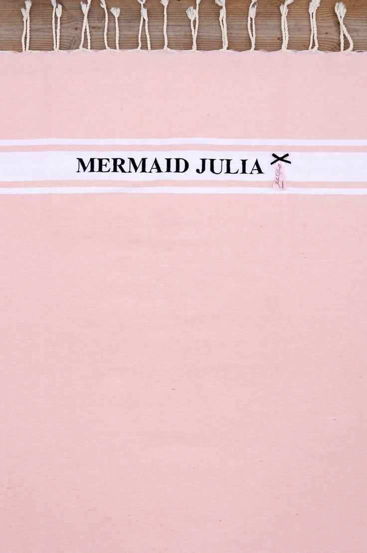 JULIADIEHL.COM THE MERMAID TOWEL !