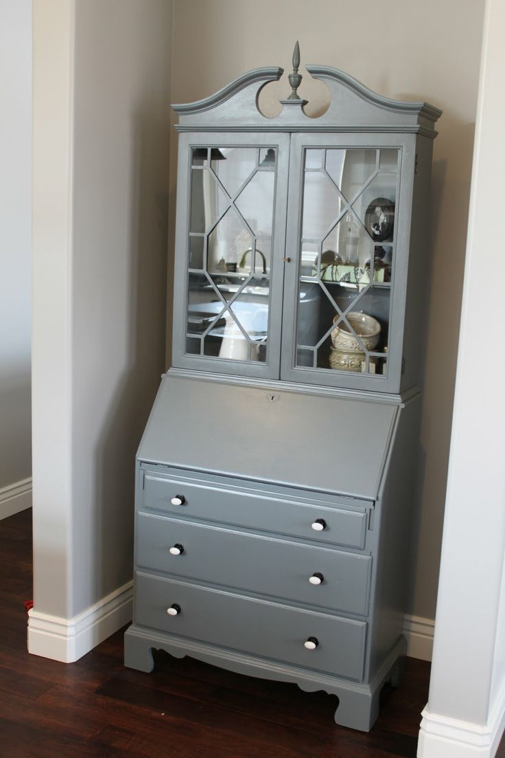 Best 25 Painted Secretary Desks Ideas On Pinterest