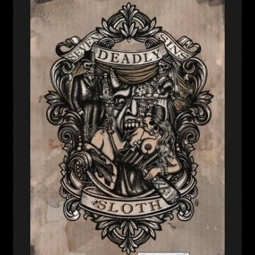 402 best seven deadly sins artwork images on pinterest for Seven sins tattoo