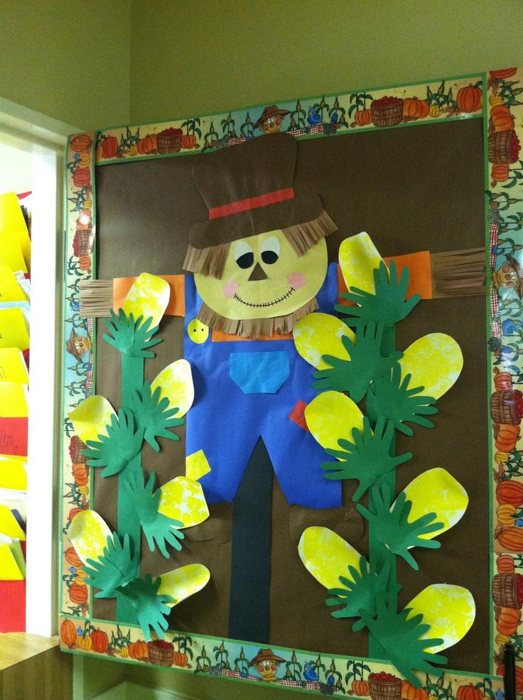 Scarecrow Door Decoration Classroom ~ Bästa bilderna om classroom decoration på pinterest