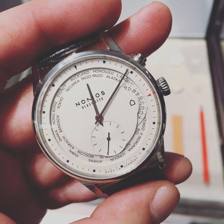 いいね!11件、コメント1件 ― Marcus L.さん(@imagin8tv)のInstagramアカウント: 「The #nomos world timer. Singapore limited edition. #worldtimer #limitededition #singapore」