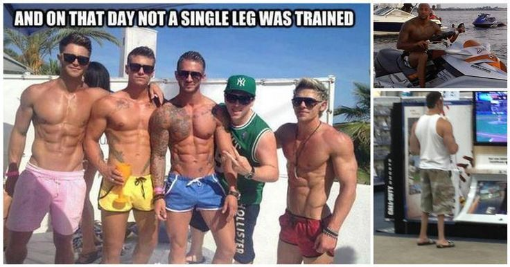 15 Pictures That Prove Bros Shouldn't Let Bros Skip Leg Day | Diply