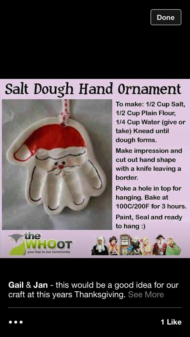 Used to do this when I was little with my sisters and my mom, I'm going to ask my mom to make these with me this year to be nostalgic