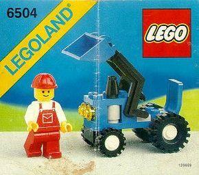 City - Tractor [Lego 6504]